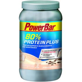 PowerBar Protein Plus 80% - Nutrición deportiva - Stracciatella 700g